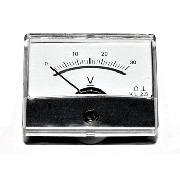 Paneelmeter Analoog Spiegelschaal 500mA DC