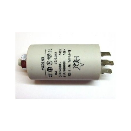 Motor Condensator 8,0uF