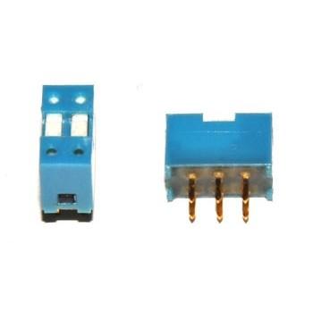 DIP switch 2 polig 2x Wissel