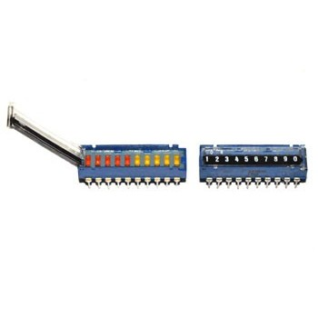 Dip Switch 10 polig met Deksel
