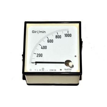 Paneelmeter Analoog Vierkant 1000rpm 1V DC