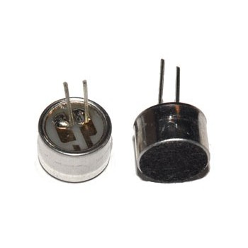 Electret Microfoon 66dB 9,7 x 6,7mm
