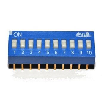 DIP Switch 10 polig