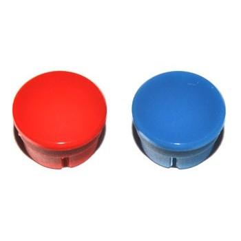 Spantang 15mm Dop Blauw Glanzend
