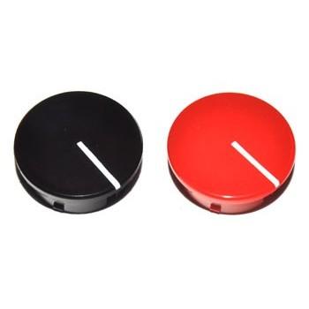 Spantang 21mm Dop Zwart Glanzend +Lijn