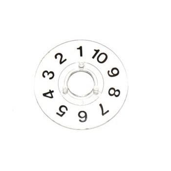 Spantang 10mm Cijferring