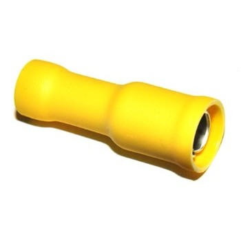 Busstekker 5mm Geel
