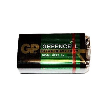 9V Zink-Chloride Batterij