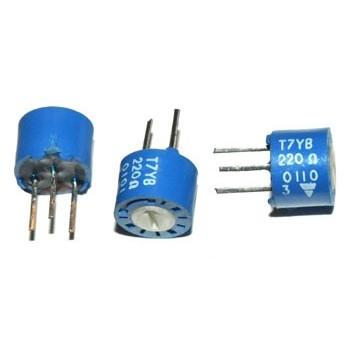 Cermet Instelpotmeter 22 Ω