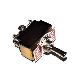 Tumbler 12mm 2x Wissel 10A met Middenstand