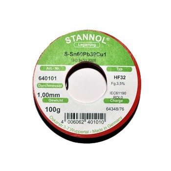 Soldeertin 1mm 100 gram 2,5%