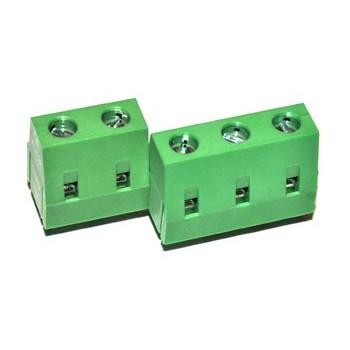 Printkroonsteen raster 7,5mm 3 polig Groen