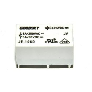 Relais 1x wissel 5A (5V)