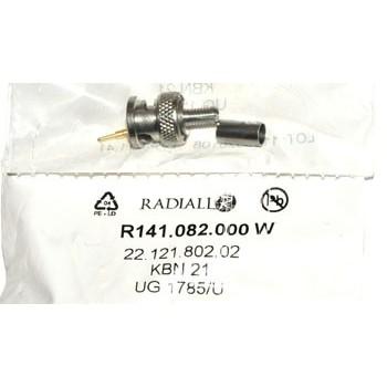 BNC Plug 50Ω Krimp Radiall 2