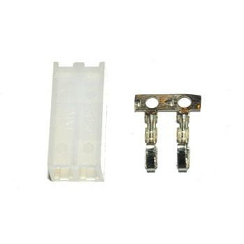 Pin Connector 3,96mm 2 pin Plug