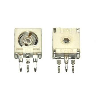 Cermet Instelpotmeter Staand 220 kΩ
