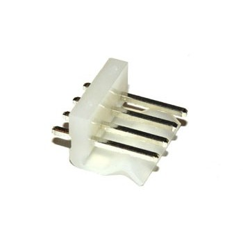 Pin Connector 3,96mm 4 pin Print Recht
