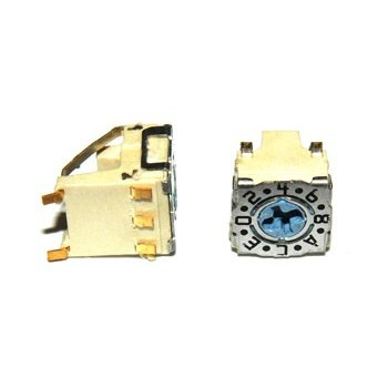 Digital Code Switch 16 Haaks SMD